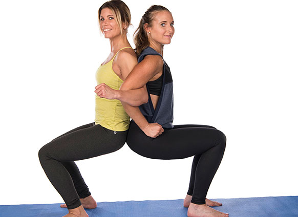 Buddy up and Try These 2-Person Yoga Poses