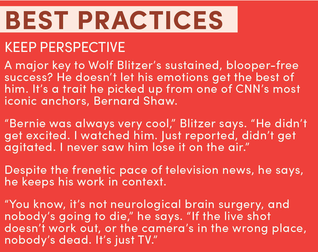 The Interesting Thing About Wolf Blitzer
